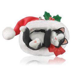 2014 Mischievous Kitten Hallmark Keepsake Ornament - Hooked on Hallmark Ornaments