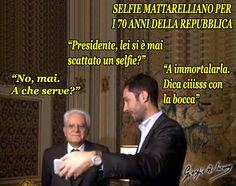 E anche Mattarella è stato instagrammato