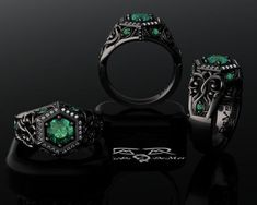 From Victorian sweetness to romantic horror, gothic engagement rings are highly symbolic choices for many couples who embrace a gothic lifestyle. While many of these rings are unique alternatives t…