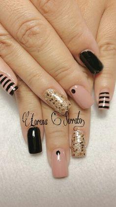 Acrylic Nails. #nail #nails #nailart #unha #unhas #unhasdecoradas