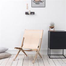 Saxe stol – Klassisk Dansk design i læder/træ – by Lassen