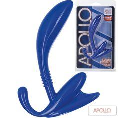 Apollo Estimulador de la Próstata Estimulación máxima para la próstata. Curvado para la comodidad y el alcance. Flexible y durable. Controlador fácil control de extracción.  Alcanzar el orgasmo mediante la estimulación anal es increíblemente excitante gracias a la alta concentración de terminaciones nerviosas.  https://arcaerotica.com/estimuladores/15685-estimulador-de-prostata-curvado-11-cm.html