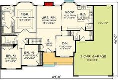 Affordable Ranch Home Plan - 89848AH   1st Floor Master Suite, Butler Walk-in Pantry, CAD Available, Craftsman, Northwest, PDF, Ranch   Architectural Designs