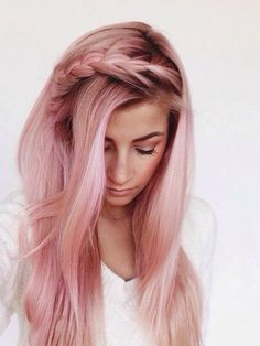 Made a bet with my best friend that I would someday dye my hair pink. This is what I'd like, although it might be darker. I love the outstanding roots.