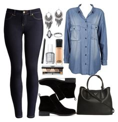 """""""Untitled #3319"""" by natalyasidunova ❤ liked on Polyvore featuring Joules, Dr. Denim, Gathering Eye, Lucky Brand, Prada, Topshop, MAC Cosmetics, Essie, NARS Cosmetics and Bobbi Brown Cosmetics"""