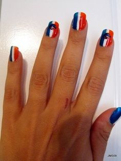 Boise State Nails