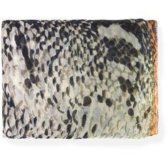 Faliero Sarti Serpentina Scarf (€188) ❤ liked on Polyvore featuring accessories, scarves, faliero sarti scarves and faliero sarti