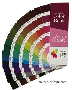 This color book is for you if:     ~ You have warm undertones   ~ You can wear muted colors   ~ Bright colors overpower you. Perfect for people who are soft autumns in the 12 seasons. Toned Autumn, Tinted Autumn and Toned Spring in the 16 seasons. Soft & Warm in Your Color Style.