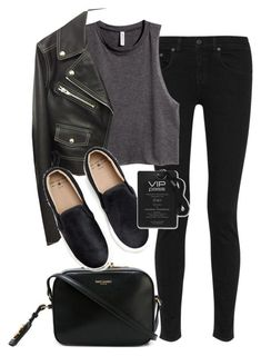 A fashion look from August 2015 featuring sleeveless crop top, real leather jackets and rag bone jeans. Browse and shop related looks. Looks Style, Looks Cool, My Style, Trendy Outfits, Cute Outfits, Fashion Outfits, Fashion Trends, Womens Fashion For Work, Winter Looks