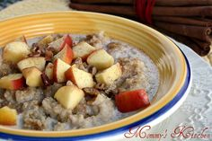 Mommy's Kitchen - Home Cooking & Family Friendly Recipes: Overnight Crock Pot Steel Cut Oats {Oatmeal}