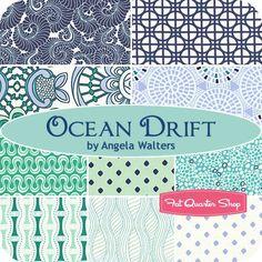 Ocean Drift Fat Quarter BundleAngela Walters for Art Gallery Fabrics - Fat Quarter Bundles   Fat Quarter Shop