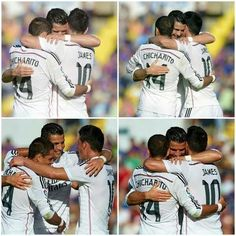 México+Colombia+Portugal= Real Madrid .