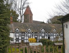 Berriew, Powys, Wales by wonky knee, via Flickr