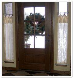 Small Curtain Rods For Sidelights