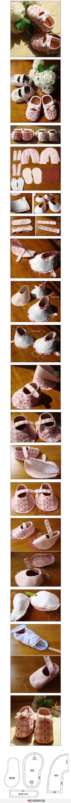 Baby Shoe How-To