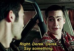 """Teen Wolf - STEREK AU- truth serum Different kinds of wolfsbane affect werewolves in various ways. So when Derek's poisoned with it this time, things take an unexpected turn.  """"Are you shitting me? Oh my god, this is awesome.""""""""Shut up, Stiles.""""""""No, I won't. So you can't lie?""""""""No.""""""""And if I ask you something, you feel… compelled to answer truthfully?""""""""Yes.""""""""Circumcised or not?""""""""Not."""""""