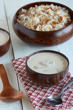 Shakriya (Arabic Meat in Yogurt Sauce)