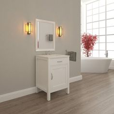 Photo Album Gallery Alya Bath Elite in Single Modern Bathroom Vanity White AW W LGGT NM Bathroom vanities Products and Modern