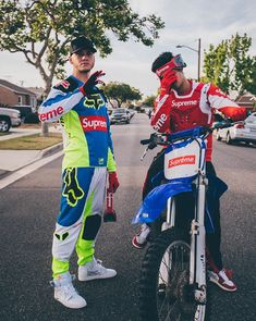 Full fit goals, supreme x Fox Racing ss18