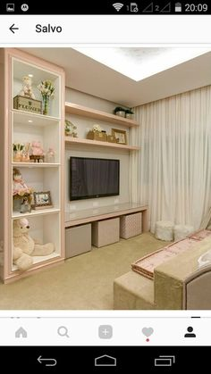 Bedroom Design Ideas – Create Your Own Private Sanctuary Bedroom Furniture, Bedroom Decor, Bedroom Ideas, Diy Zimmer, Girl Bedroom Designs, Little Girl Rooms, Teen Bedroom, Bedrooms, Dream Rooms