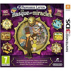 Professeur Layton et le Masque des Miracles sur Nintendo 3DS - Fnac.com - Jeux vidéo