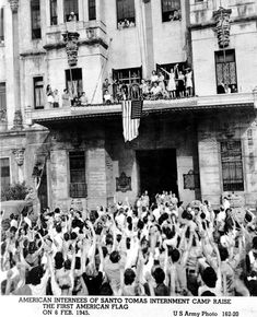 It was 70 years ago that the American, British, Canadian and other Allied families, almost were liberated from their internment at the University of Santo Tomas after over three years … University Of Santo Tomas, Manila, Wwii, Philippines, Nostalgia, The Past, Concert, Vintage, Santos