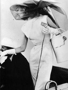 Sophie Litvak in Givenchy, 1954