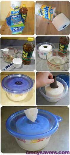 I used to do this for baby wipes.why, oh why didn't I realize I could make disinfecting wipes too. DIY Disinfecting Wipes & More with Step by Step Instructions. Homemade Cleaning Products, Cleaning Recipes, Cleaning Hacks, Homemade Wipes, Cleaning Supplies, Household Products, Homemade Disinfecting Wipes, Homemade Baby, Homemade Camper