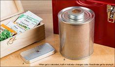 Silica Gel Dehumidifiers - Woodworking
