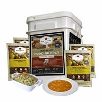 Wise Food Storage 60srv breakfast & entree has a 25 year shelf life. All freeze dried & Dehydrated premade meals. #prepper #survival #foodstorage