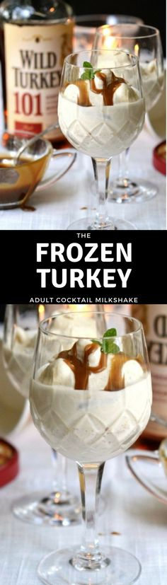 The Frozen Turkey is an adult cocktail of epic proportions, your holidays are never going to be the same, trust me! #cocktail #Thanksgiving #Thanksgivingdessert #Thanksgivingcocktail #adultmilkshake #whiskey #christmas #holidaydessert #holidaycocktail #icecream #milkshake #dessertcocktail #amaretto #coffee