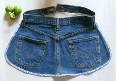 Jeans Gartenschürze nähen (gkkreativ)