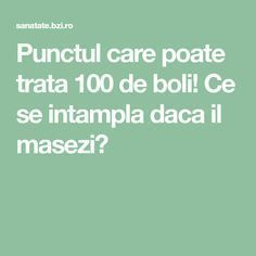 Punctul care poate trata 100 de boli! Ce se intampla daca il masezi? Fitness Diet, Health Fitness, Metabolism, Natural Skin Care, Good To Know, Cancer, Remedies, Healing, Humor