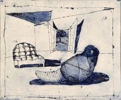 EL KAZOVSZKIJ, untitled 1972 Hungary, Drawings, Art, Art Background, Kunst, Sketches, Performing Arts, Drawing, Portrait