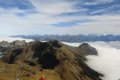 Brienzer Rothorn view with of fog sea. Switzerland, Sea, Mountains, Nature, Travel, Naturaleza, Viajes, Ocean, Trips