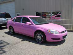 Description Pink cars Memphis TN 2013-07-28 004.jpg