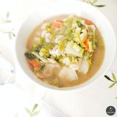 Sopa de Nabiças | Turnip Greens Soup | -- Visit Site for Recipe --