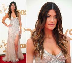 Jennifer Carpenter - Emmys 2013 -  Tony Ward sequined dress