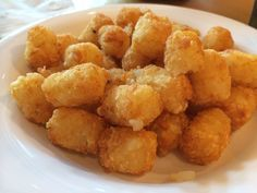 Tater tots - because they are just awesome!