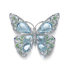 The Art of the Sea : Broche Papillon High Jewelry, Luxury Jewelry, Unique Jewelry, Gemstone Brooch, Butterfly Jewelry, Tiffany Jewelry, Jewelry Armoire, Turquoise Jewelry, Jewelry Collection