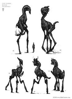 Academy of Art Character and Creature Design Notes: The use of Silhouettes in Concept Design