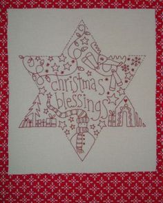 Christmas Blessings Star from Rosalie Quinlan Designs