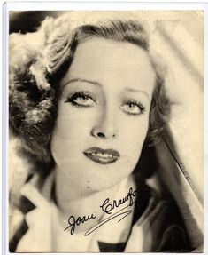 RARE ANTIQUE 1930'S JOAN CRAWFORD MOVIE STAR AUTOGRAPH AUTOPEN WATCH ADVERTISING | eBay