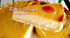 tarte-à-la-crème-au-sirop-d'érable Creme, Cheesecake, Brunch, Food And Drink, Desserts, Pains, Boutique, Lemon Chicken, Preserved Lemons
