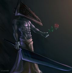 Pyramid Head, Silent Hill, Horror, Gaming, Anime, Movies, Design, Videogames, Films