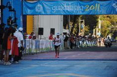 Gladys Tejeda. Atletismo. Medalla de bronce en el maratón de Guadalajara 2011.