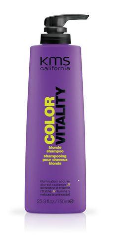 KMS California Color Vitality Blonde Shampoo 25.3 oz / 750 ml #KMSCalifornia