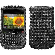 Insten / Diamante Phone Case Cover for berry Curve 8520/ 8530 #1129827