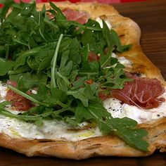 Clinton and Carla's Grilled Pizza recipe. #thechew