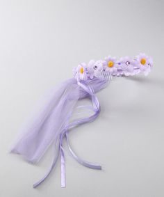 Look what I found on #zulily! Lilac Daisy Princess Halo #zulilyfinds